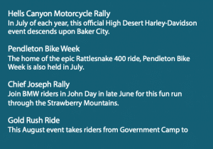 Information on local rallies