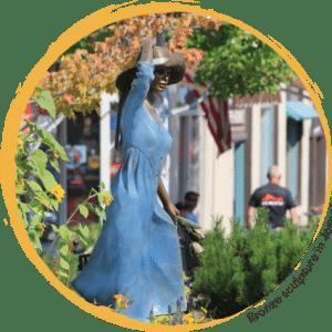 Bronze Sculpture in Joseph