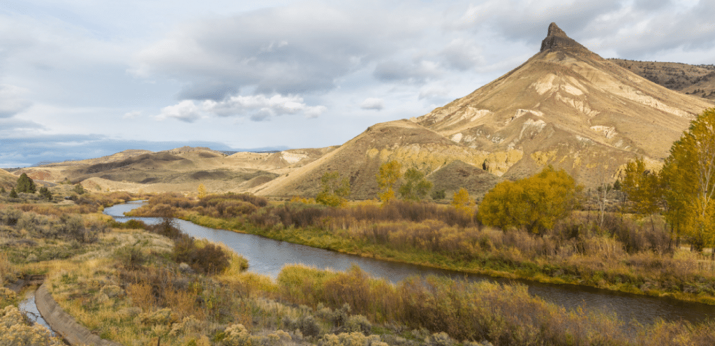 Sheep Rock and The John Day River