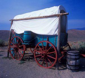 Oregon Trail Wagon