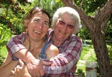 Aruna Jacobi and her mom Barbara Jacobi
