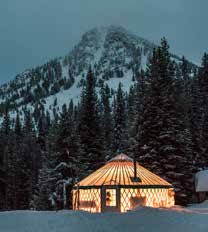 Winter Lodge at Anthony Lakes