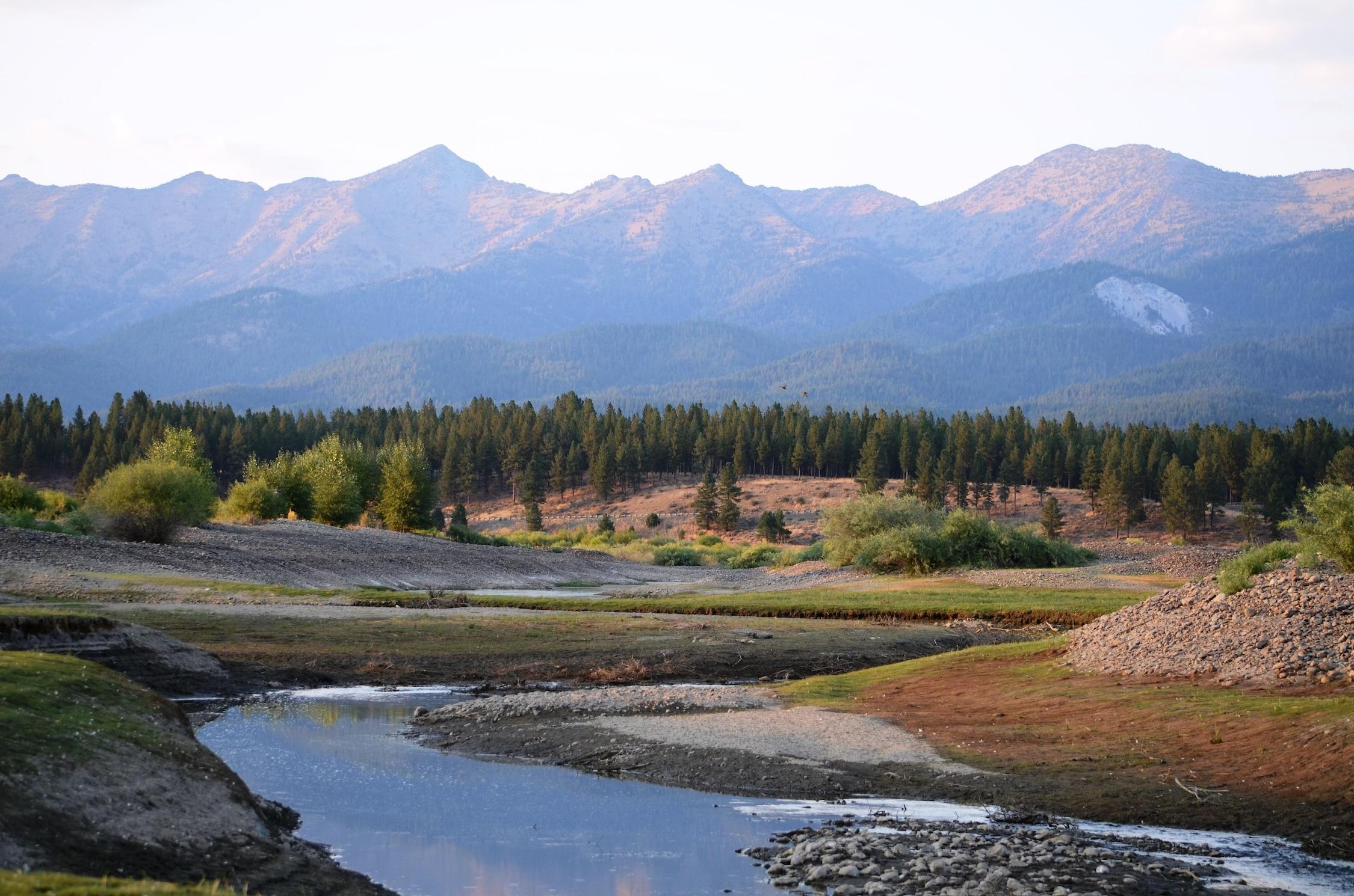 River through the Valley